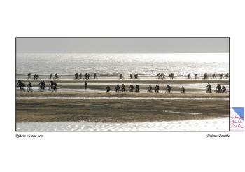 « Touquet Raid Pas-de-Calais 2008 : un défilé de vélos sur la mer... »